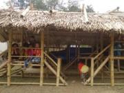 Giáo dục - du học - Xót lòng nhìn những lớp học tạm bợ ở miền Tây xứ Thanh trước ngày khai giảng