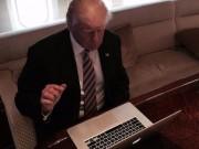 Công nghệ thông tin - Điện thoại của ông Donald Trump có trình duyệt web hay không?