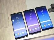 Dế sắp ra lò - Samsung Galaxy Note 8 phá lệ giao hàng sớm hơn