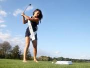 Thể thao - Golf 24/7: Dàn mỹ nhân xinh như mộng đọ tài trên sân