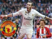 MU - Mourinho treo thưởng áo số 7: Bale đấu Griezmann kịch liệt