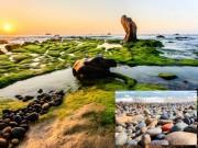 Ngất ngây bãi đá 7 màu ở Bình Thuận