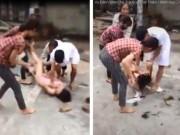 Tin tức trong ngày - Nóng 24h qua: Đánh ghen, cô gái bị cắt tóc, xé toang áo giữa đường