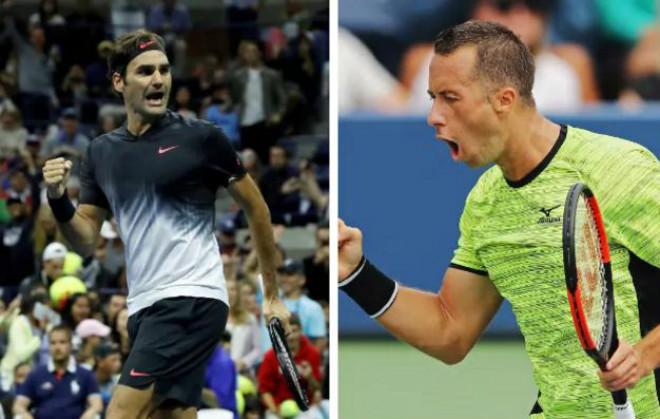 Federer - Kohlschreiber: Bùng nổ thời khắc quyết định (Vòng 4 US Open) - 1
