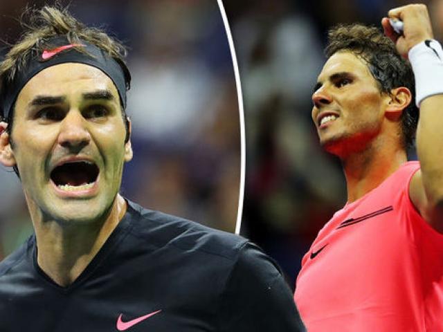 """Clip hot US Open: Đang đôi công, Federer """"cắt bánh"""" cực ngọt khuất phục Del Potro 1"""