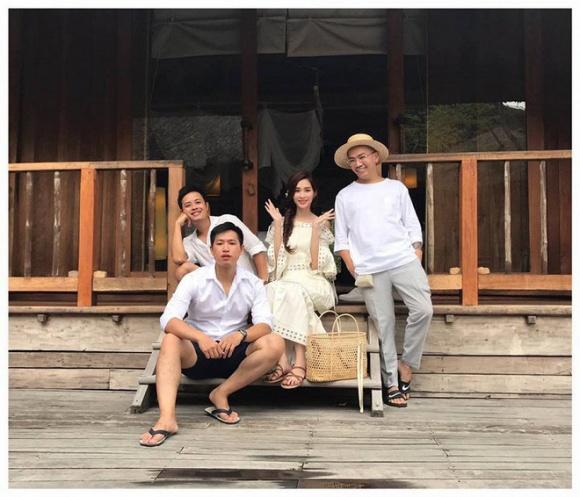 Lộ khoảnh khắc Hoa hậu Thu Thảo rạng rỡ chụp hình cưới - 4