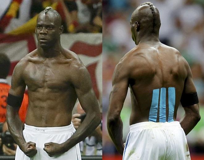 """""""Ngựa chứng"""" Balotelli từ gã phì nộn đến thân hình mạnh mẽ tựa King Kong - 8"""