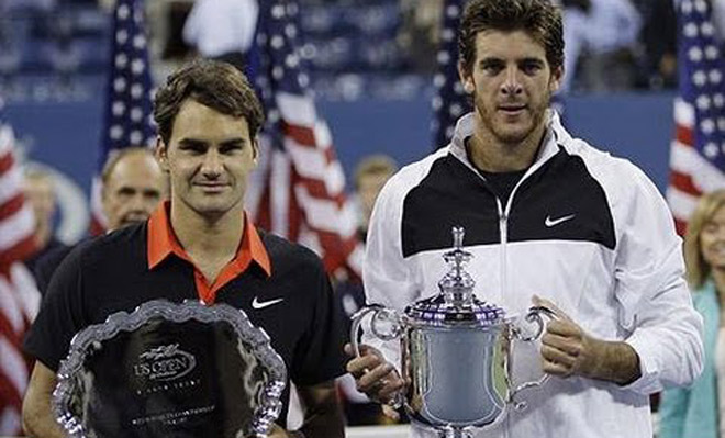 "US Open: ""Tòa tháp"" Potro hẹn phá kinh điển Federer - Nadal - 1"