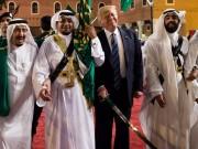 Hoàng gia Ả Rập tặng nhiều quà  độc  cho ông Trump