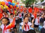 Giáo dục - du học - Những hình ảnh đầu tiên về lễ khai giảng năm học mới trên cả nước