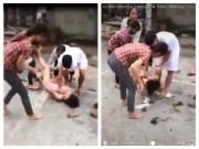 Tin tức trong ngày - Lộ diện nhóm đánh ghen, xé toang áo cô gái giữa đường
