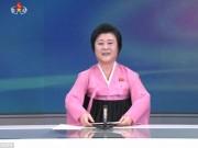 """Thế giới - Nữ MC Triều Tiên chuyên đọc tin khiến Mỹ-Hàn """"run rẩy"""""""