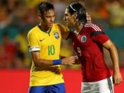 """Bóng đá - Colombia – Brazil: """"Ảo thuật gia"""" Neymar đọ tài """"Mãnh hổ"""" Falcao"""