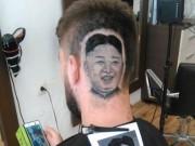 Thế giới - Nga: Cắt tóc ra hình khuôn mặt Kim Jong-un trên đầu khách