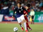 """"""" Ronaldo Campuchia """"  khiến Công Phượng ngậm ngùi rời sân"""