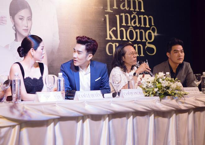 Hoài Linh giả gái làm vợ Quang Hà trong liveshow tiền tỷ - 2