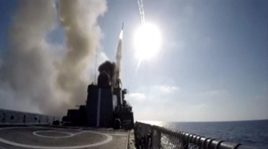 Tàu chiến Nga nã tên lửa hành trình diệt khủng bố IS - 2