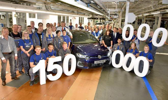 Volkswagen kỷ niệm chiếc xe thứ 150 triệu xuất xưởng - 1