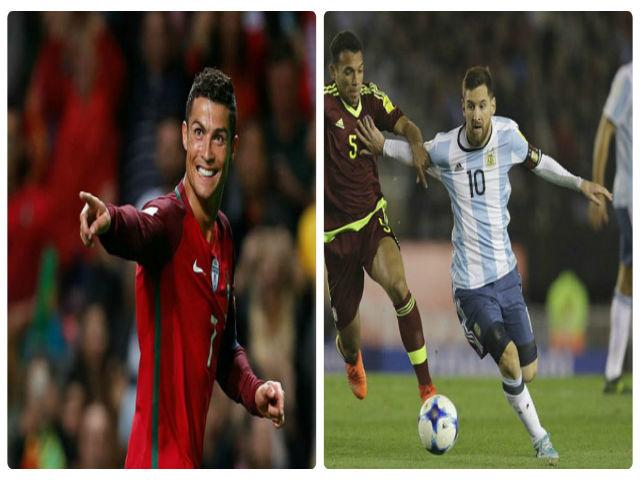 Vòng loại World Cup: Ronaldo sáng, Messi mờ, nguy cơ lại từ giã Argentina