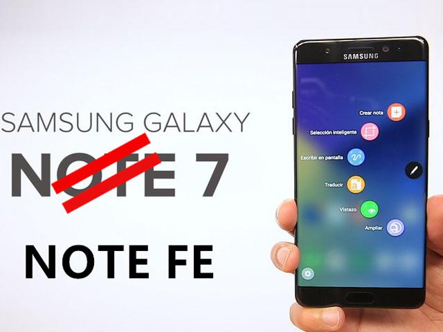 Galaxy Note FE đã không còn cái nào để bán ở Hàn Quốc