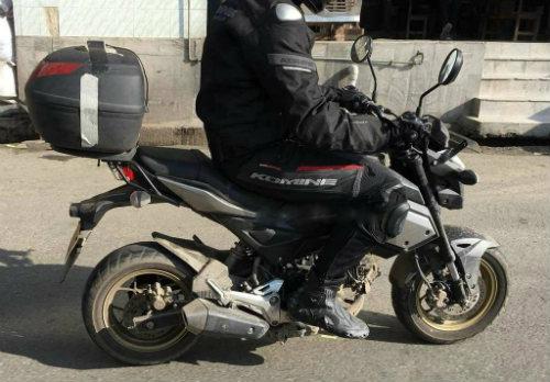 2018 Honda Grom không ngụy trang thử nghiệm - 2