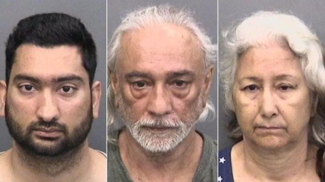 Bố mẹ chồng Ấn Độ bay tới Mỹ để đánh con dâu - 1