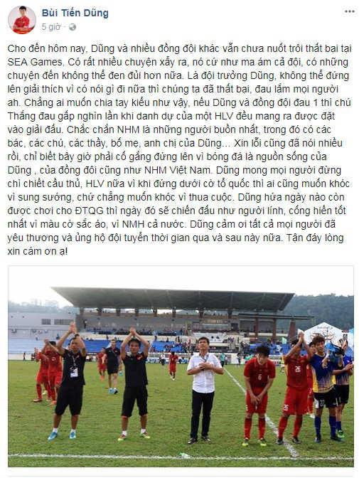 Đội trưởng U22 Việt Nam mong đừng chì chiết cầu thủ, HLV nữa - 2