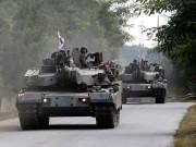 Xe tăng Hàn Quốc rầm rộ áp sát biên giới Triều Tiên
