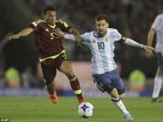 Bóng đá - Argentina - Venezuela: Messi mất hút, đối mặt hiểm nguy