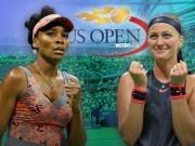 Thể thao - Venus - Kvitova: Quần chiến 155 phút, giành vé ngoạn mục (Tứ kết US Open)