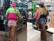 """Tranh vui - Hú hồn với những kẻ """"quái dị"""" trong siêu thị"""