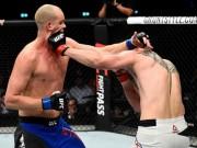 """Thể thao - UFC: Võ sỹ 2m13, cao nhất thế giới bị đấm đổ """"như chuối"""""""