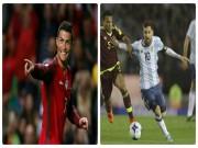 Bóng đá - Vòng loại World Cup: Ronaldo sáng, Messi mờ, nguy cơ lại từ giã Argentina