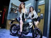 Thế giới xe - Chết mê chân dài bên Honda CB150R hoàn toàn mới