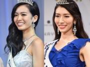 Thời trang - Ngỡ ngàng vì thí sinh, hoa, á hậu Nhật Bản xấu đều