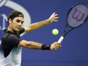 """Thể thao - Clip hot US Open: Federer """"đánh võng"""" trên sân, ra đòn """"hủy diệt"""""""