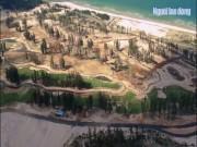 Clip: Rừng phòng hộ Phú Yên bị phá làm sân golf
