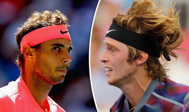 Nadal – Rublev: Choáng váng trong 1 tiếng rưỡi (Tứ kết US Open)