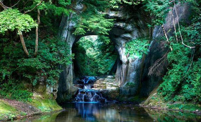 Khám phá khe suối đẹp như chốn thần tiên ở Nhật - 6