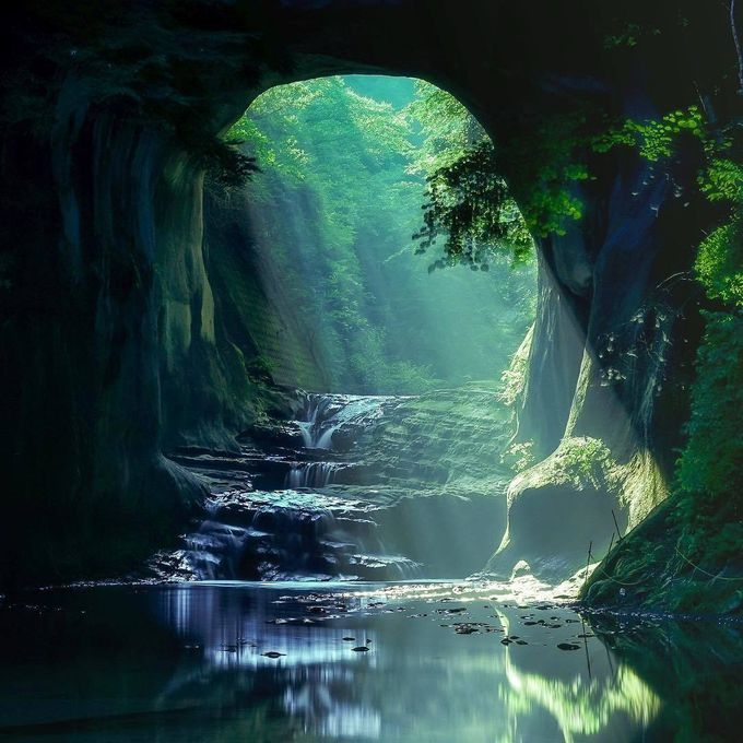 Khám phá khe suối đẹp như chốn thần tiên ở Nhật - 7