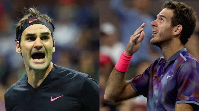 Federer - Del Potro: Bung sức set 2, kết cục chấn động (Tứ kết US Open) 1