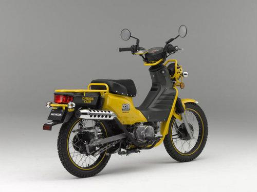 Honda Cross Cub rục rịch ra mắt, giá 13,5 triệu đồng - 3