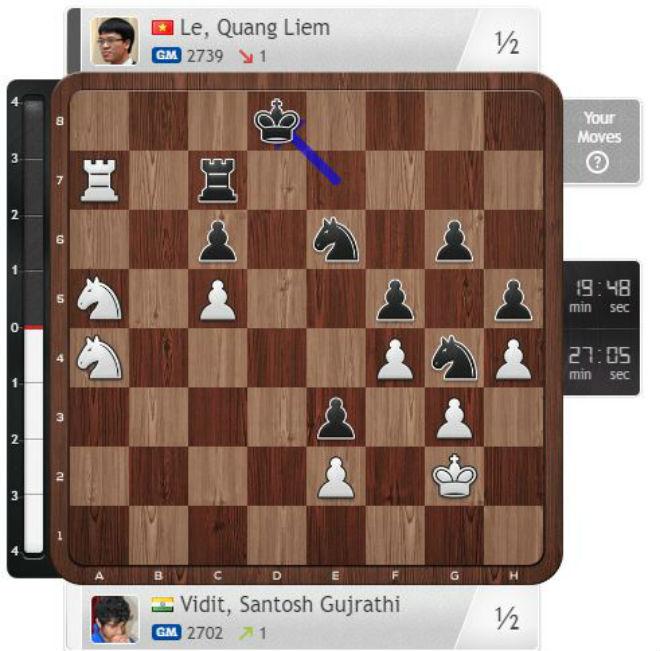 Tin thể thao HOT 7/9: Quang Liêm thất bại đáng tiếc giải cờ vua VĐTG 1