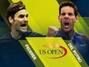 """Thể thao - """"Đấu súng"""" ở US Open: Federer bỗng hóa thỏ non, Del Potro lại thành cáo già"""
