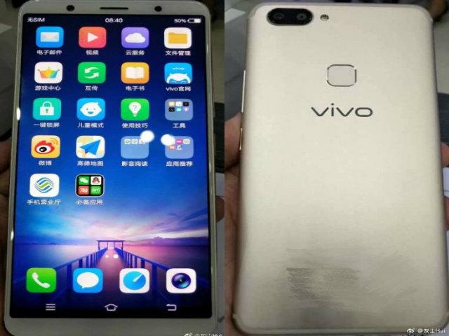 Vivo X20 màn hình tràn viền lộ ảnh thực tế