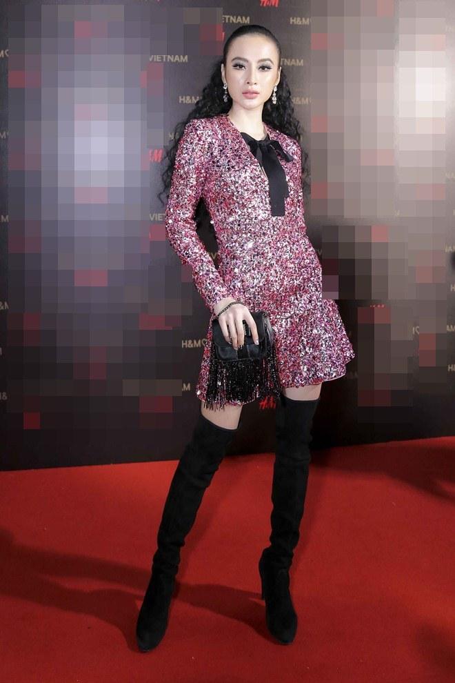 """Angela Phương Trinh lấn át dàn sao bự với váy """"sao trời"""" - 2"""