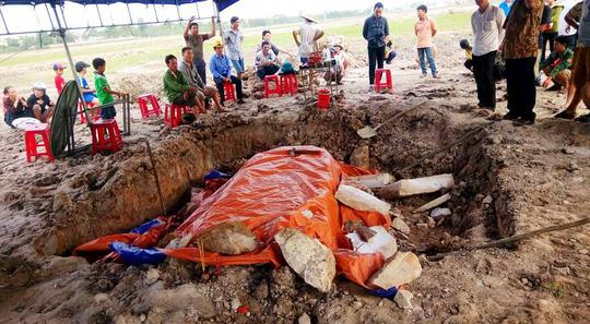 Thực hư ngôi mộ cổ vừa được tìm thấy ở Quảng Bình - 1