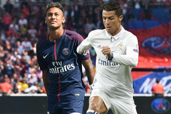 """Tiết lộ động trời Neymar tới PSG: Chỉ là """"dự bị"""" cho Ronaldo"""