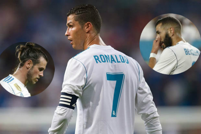 """Real Madrid: Khi Ronaldo """"hết duyên"""" Bale và Benzema - 1"""