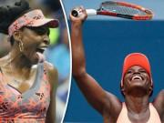 Venus Williams - Sloane Stephens: Siêu kịch tính sau 3 set (Bán kết US Open)